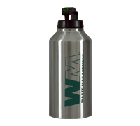 Termo de acero inoxidable de 64 oz de WM